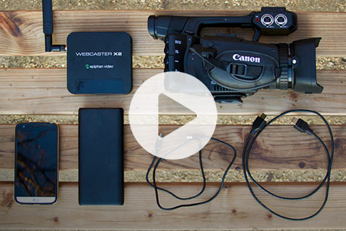 Build the ultimate mobile live streaming rig