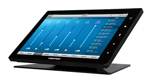 Crestron TSW touch panel