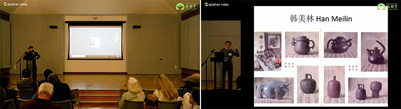 Pearl-2 captured two sources: a camera, and the presenters laptop