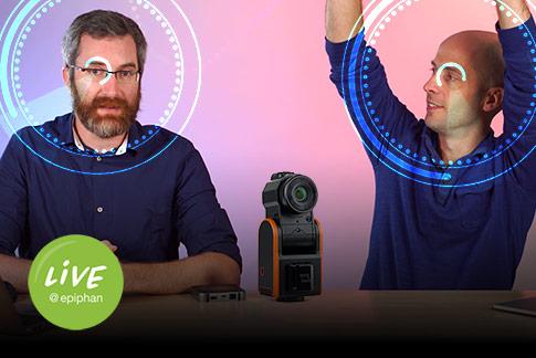 Remote camera operation - Robots, 8K, PTZ and more!