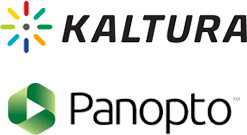 CMS support for Kaltura and Panopto