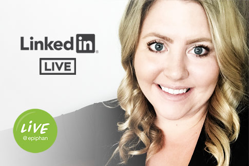 LIVE on LinkedIN LIVE!
