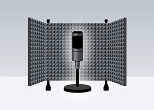 Portable voice over booth