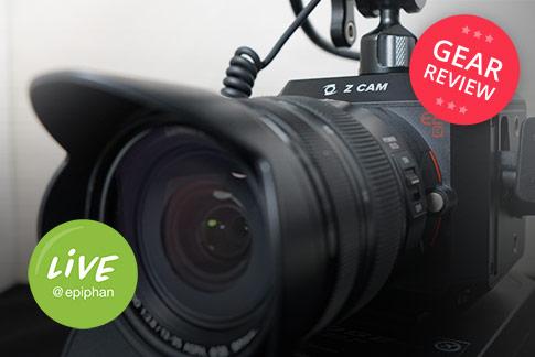 Z CAM E2C budget 4K cinema camera