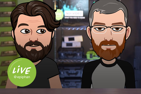 Live stream with multiple animated hosts using Adobe Character animator