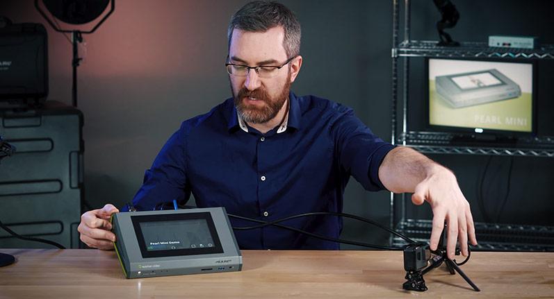 High-quality sales demo video