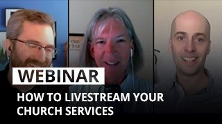 How to livestream your church services