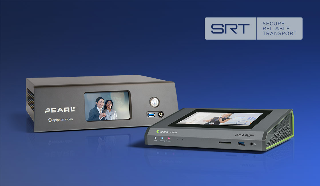 Remote video production with SRT streaming and Pearl