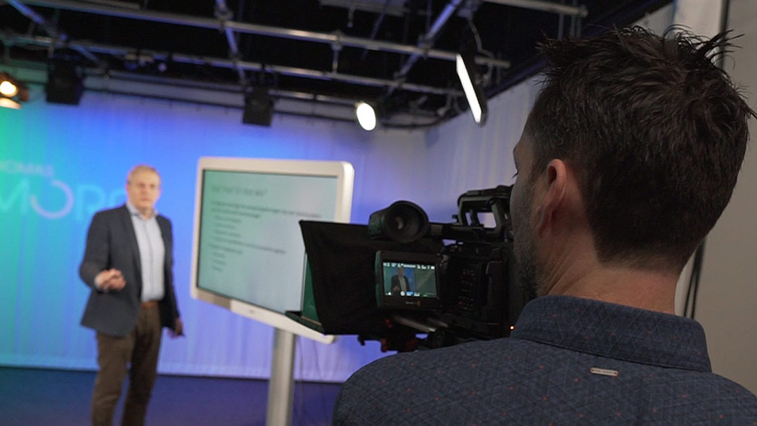 Making video production accessible at Belgium's Thomas More University