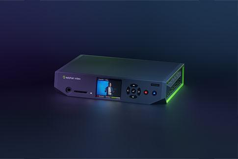 Pearl Nano: Portable and versatile hardware encoder