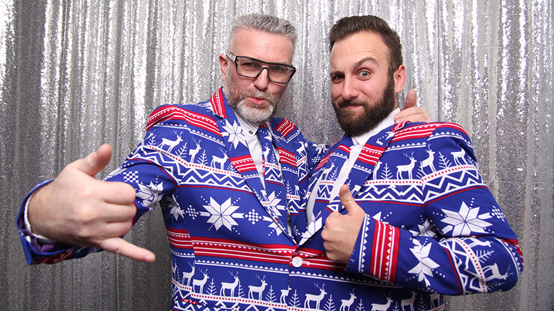 Team: Crazy holiday suits